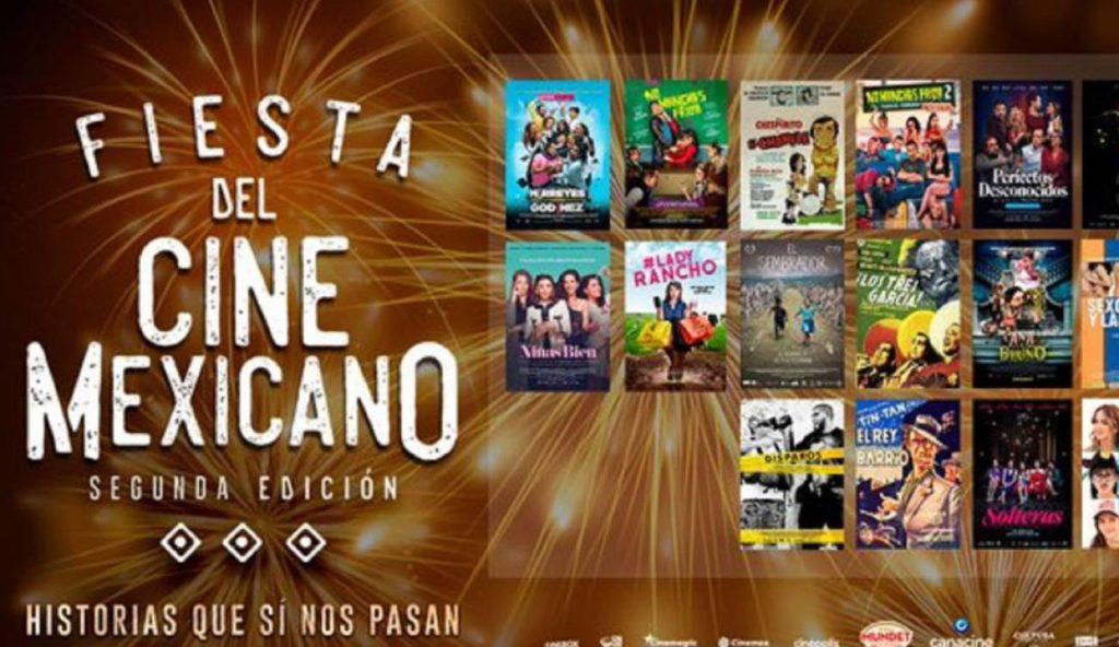 cinemex y cinépolis fiesta del cine mexicano