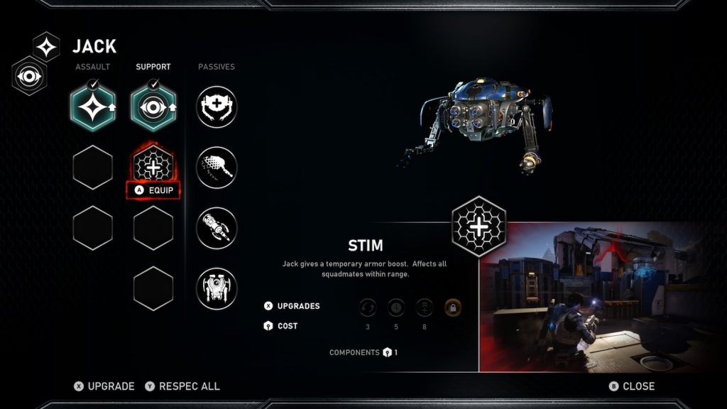 habilidades gears 5