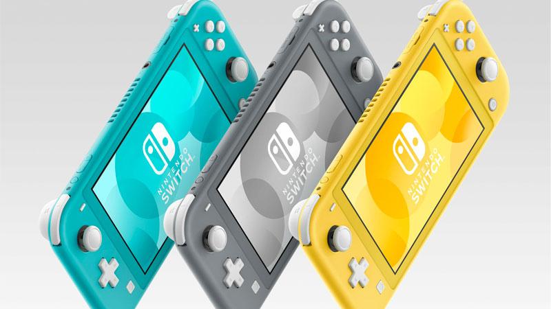 Nintendo Switch Lite y sus tres modelos
