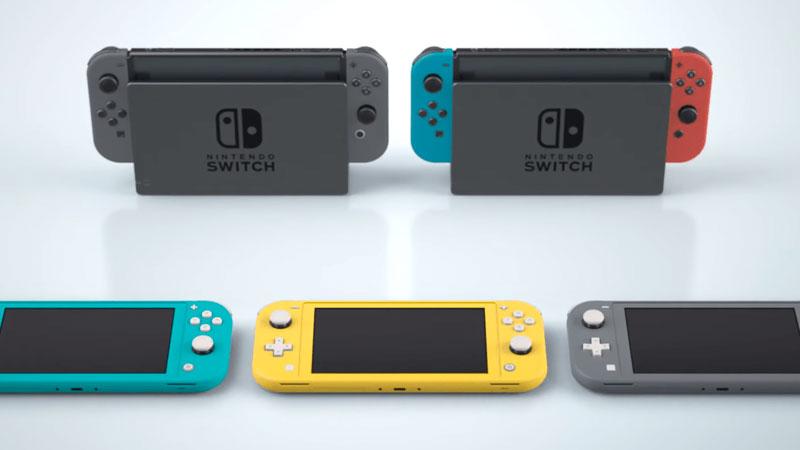 Nintendo Switch y sus distintos modelos