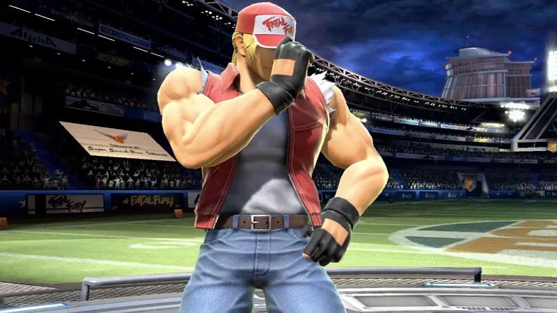 Super Smash Bros. Ultimate pronto tendry Terry Bogard