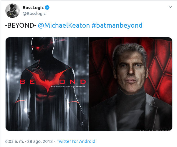 Batman Beyond podría tener película y un famoso actor participaría