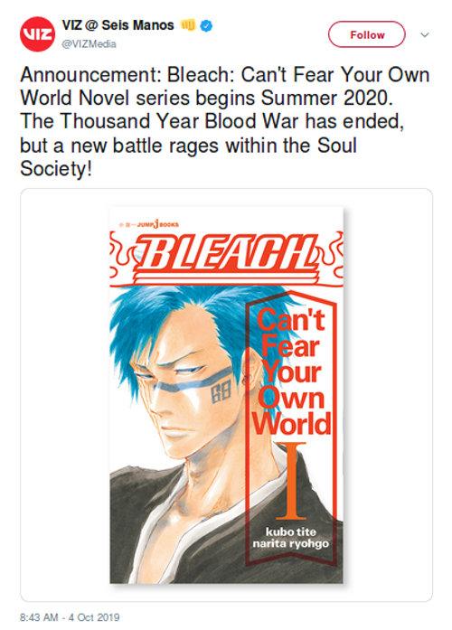 La secuela de Bleach finalmente será traducida oficialmente
