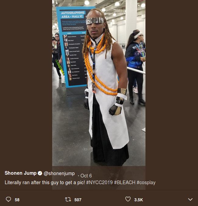 Kaname Tousen de Bleach cobra vida con este cosplay