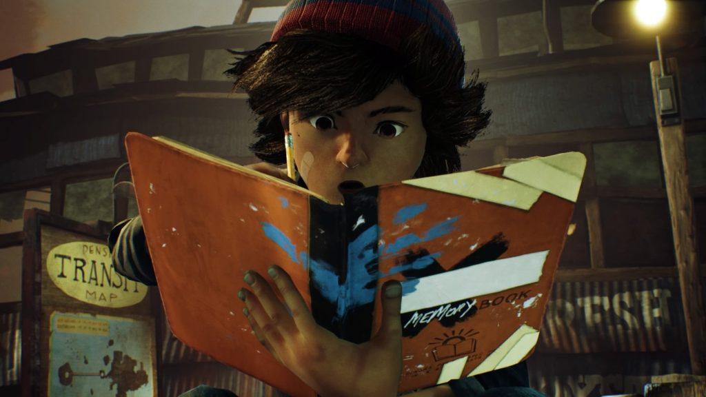 Ash y su arte en Concrete Genie