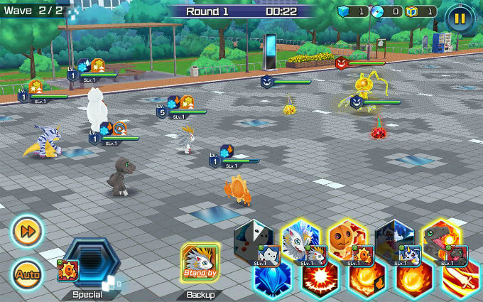 Digimon-Juego