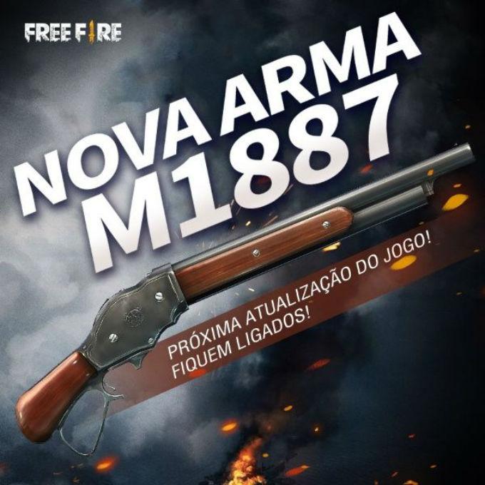 Free-Fire-Escopeta