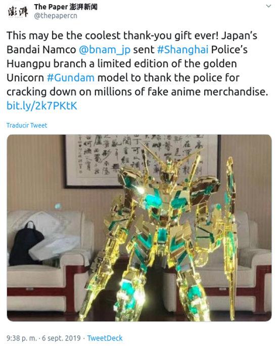 Decomisan más de un millón de juguetes falsos de Gundam, Dragon Ball y Pokémon