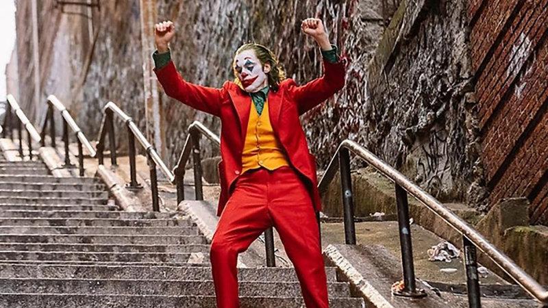 Joker: Arrojan huevos a los que visitan su icónica escalera