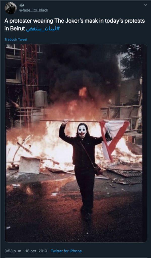 Joker-Protesta-Libano