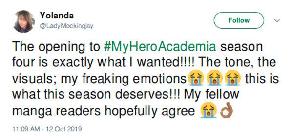 Los fans se emocionan con el regreso de My Hero Academia