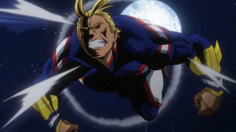 Este cosplay de All Might de My Hero Academia es muy casual
