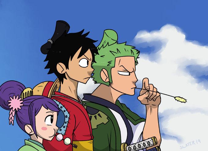 Cuando los mundos de One Piece y Samurai Champloo chocan