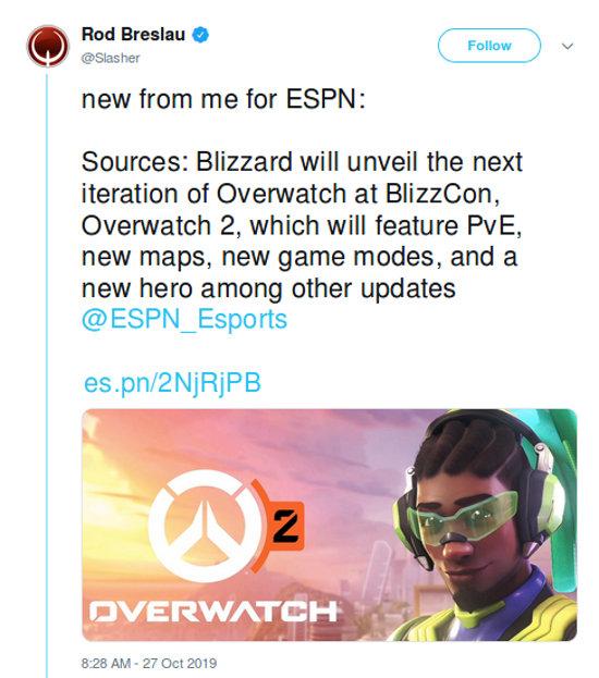 Así se verá el logotipo de Overwatch 2