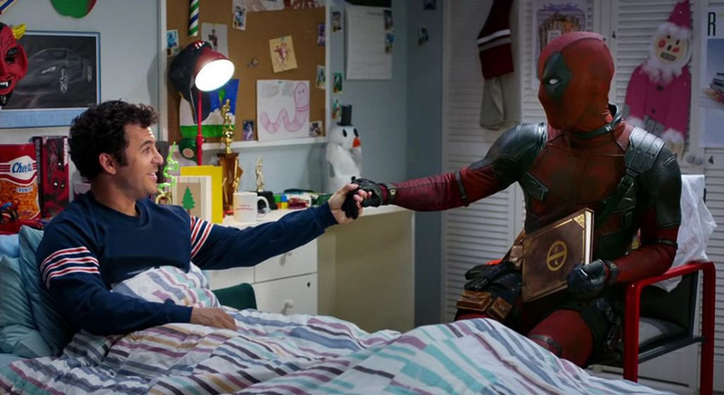 Deadpool y Fred Savage