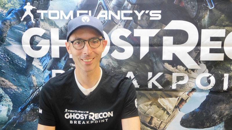 Jonathan Gingras, lider de diseño de juego de Ghost Recon Breakpoint