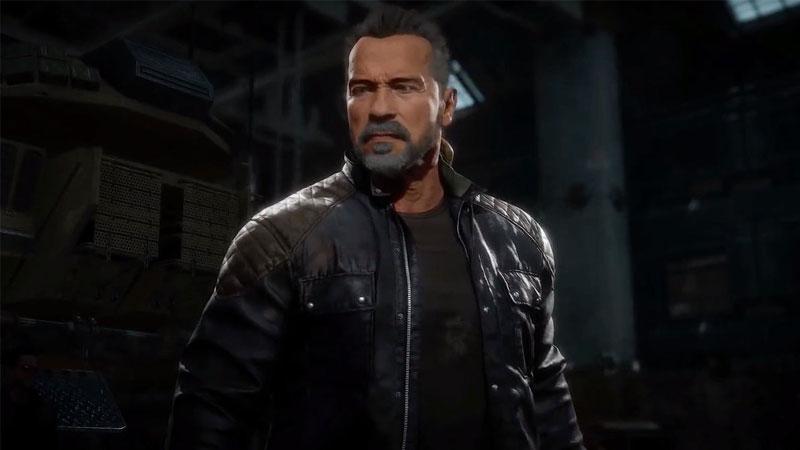 Terminator en Mortal Kombat 11