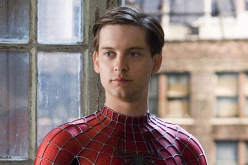 Tobey Maguire como Spider-Man