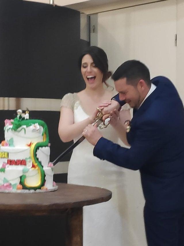 Dragon Ball se hace presente en una boda