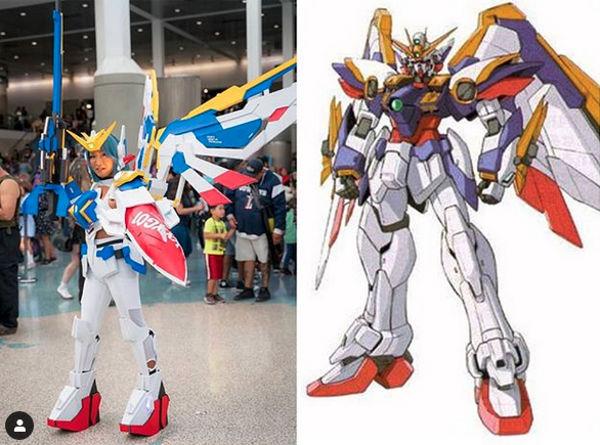 Este cosplay de Mobile Suit Gundam es espectacular