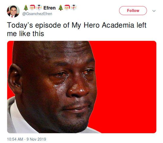My Hero Academia: La Temporada 4 tuvo un emotivo momento