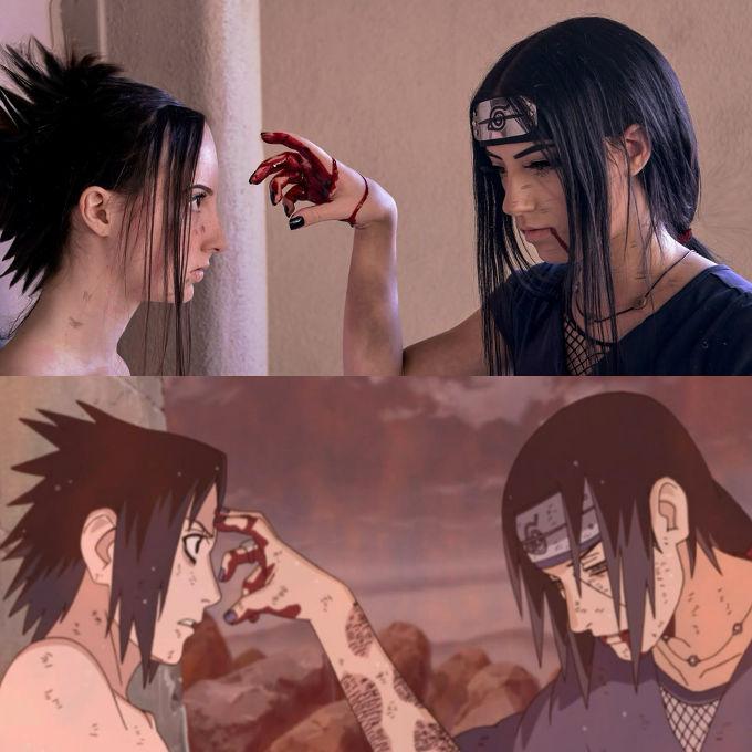 Naruto: Este cosplay recrea un momento clave del anime