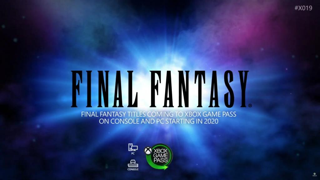 Final Fantasy llega a Game Pass