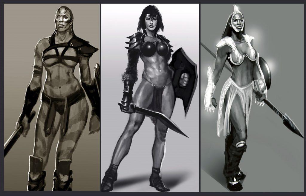 Posible hija de Kratos en God of War