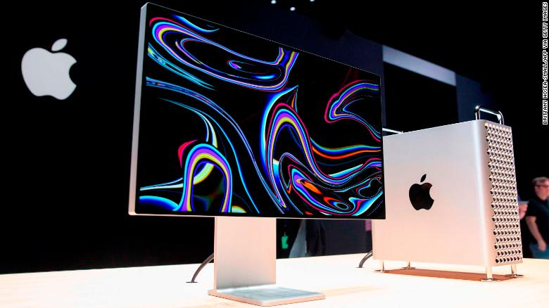 Apple's new Mac Pro sits on display in the showroom during Apple's Worldwide Developer Conference (WWDC) in San Jose, California on June 3, 2019. (Photo by Brittany Hosea-Small / AFP)        (Photo credit should read BRITTANY HOSEA-SMALL/AFP via Getty Images)