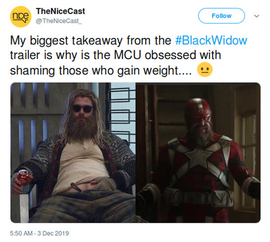 Acusan a Marvel de ridiculizar a personajes con sobrepeso