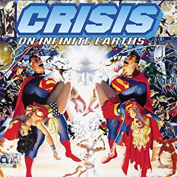 La portada del cómic de Crisis