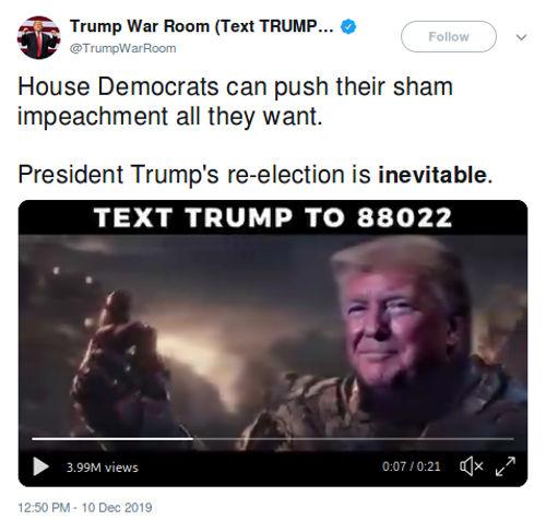 Trump usa a Thanos para su campaña y hace enojar a autor de Marvel