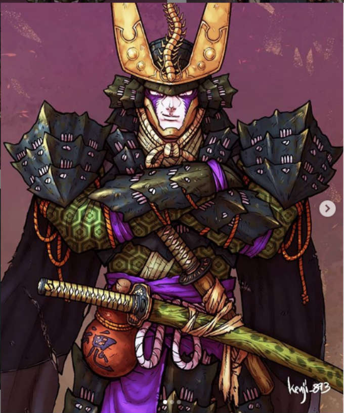 Dragon-Ball-Cell-Samurai