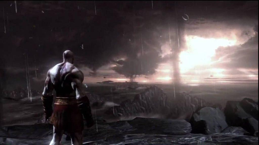Kratos en God of War 3
