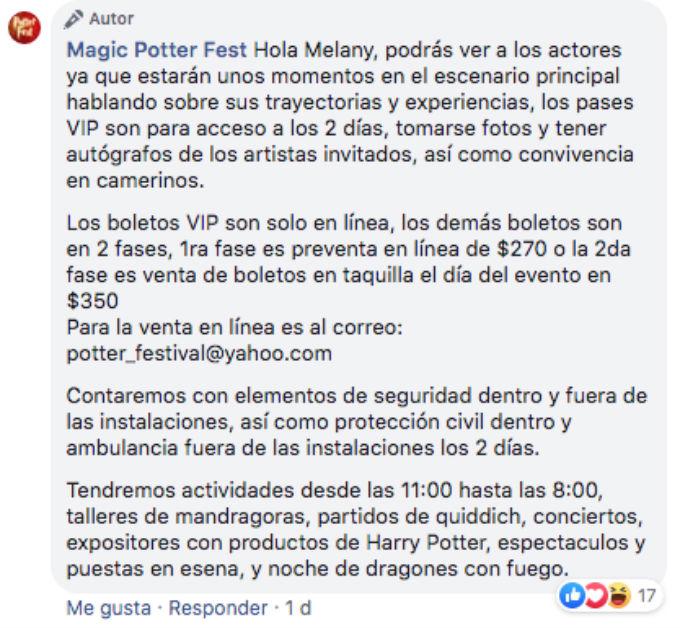 Harry-Potter-Evento-Precios