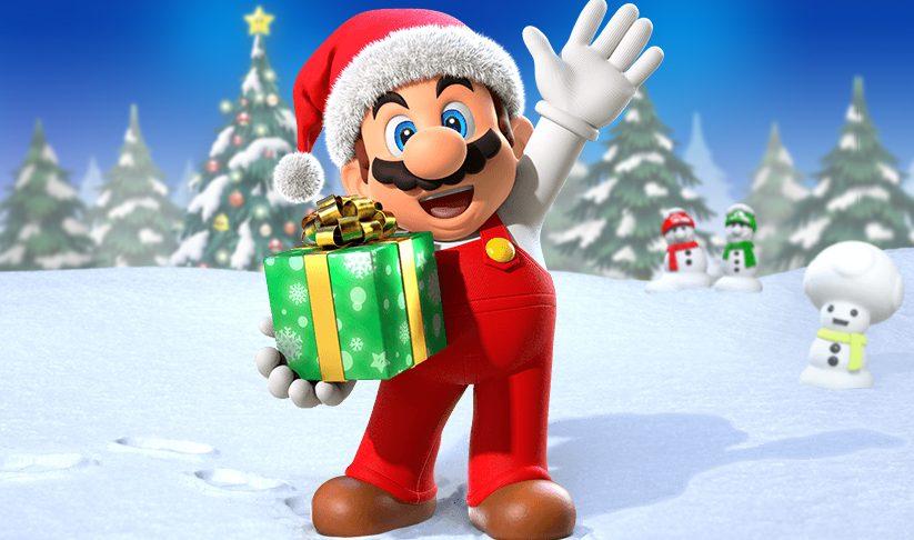 Mario navideño