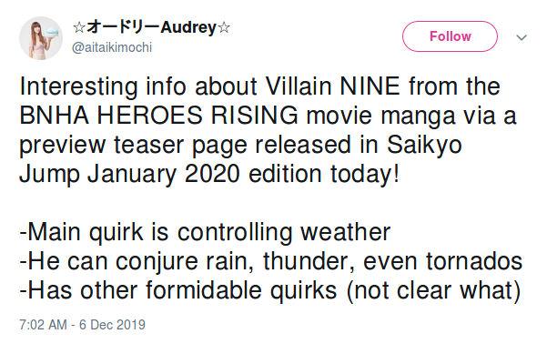 Este villano de My Hero Academia está siendo comparado con un X-Men