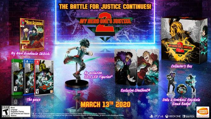 My Hero One's Justice 2 tendrá su edición de colección