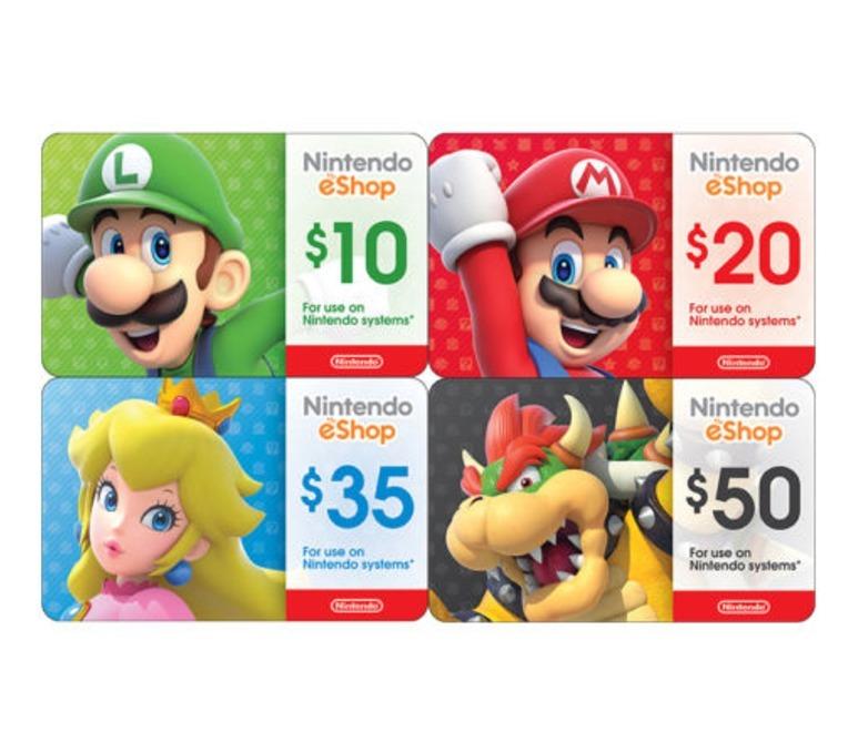 Tarjetas fan de Nintendo