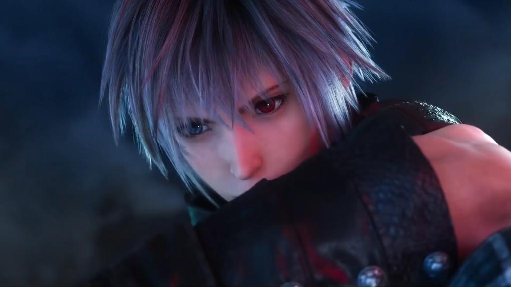 Yozora en el mundo de Kingdom Hearts III.