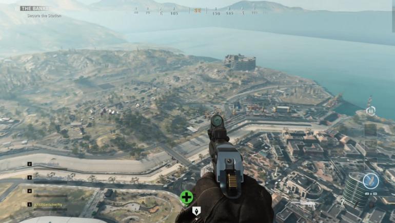 Mapa battle royale en Call of Duty