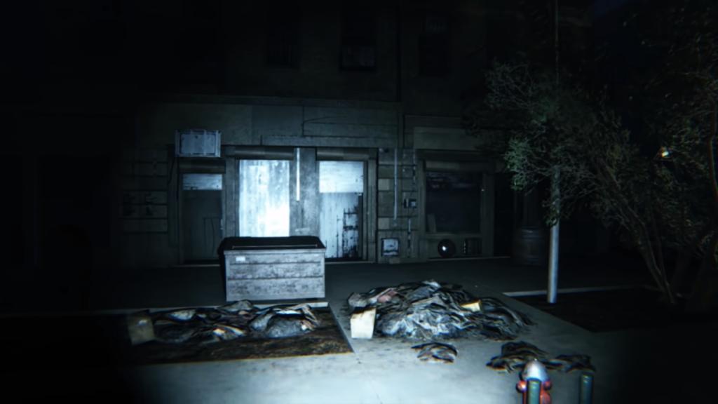 Silent Hill en el juego.