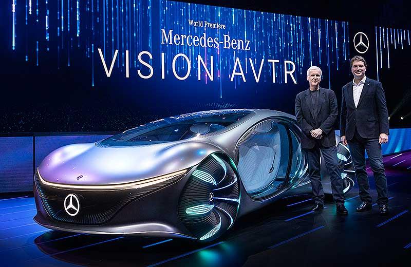 Alianza entre James Cameron y Mercedes-Benz