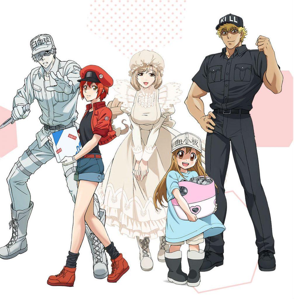 Animes en Netflix: Cells at Work
