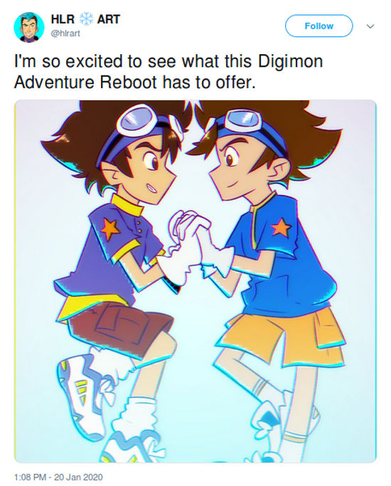Fans reacciona a la nueva serie de Digimon Adventure