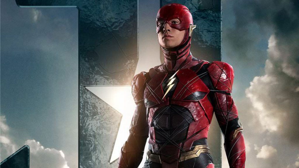 Flash de Ezra Miller en Justice League