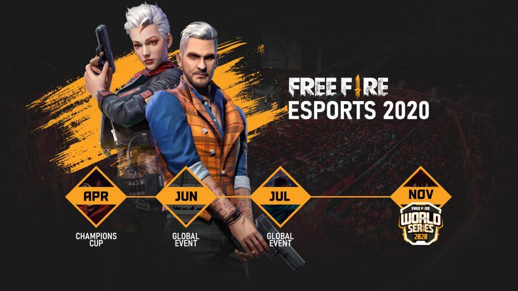 Free Fire Torneos de 2020