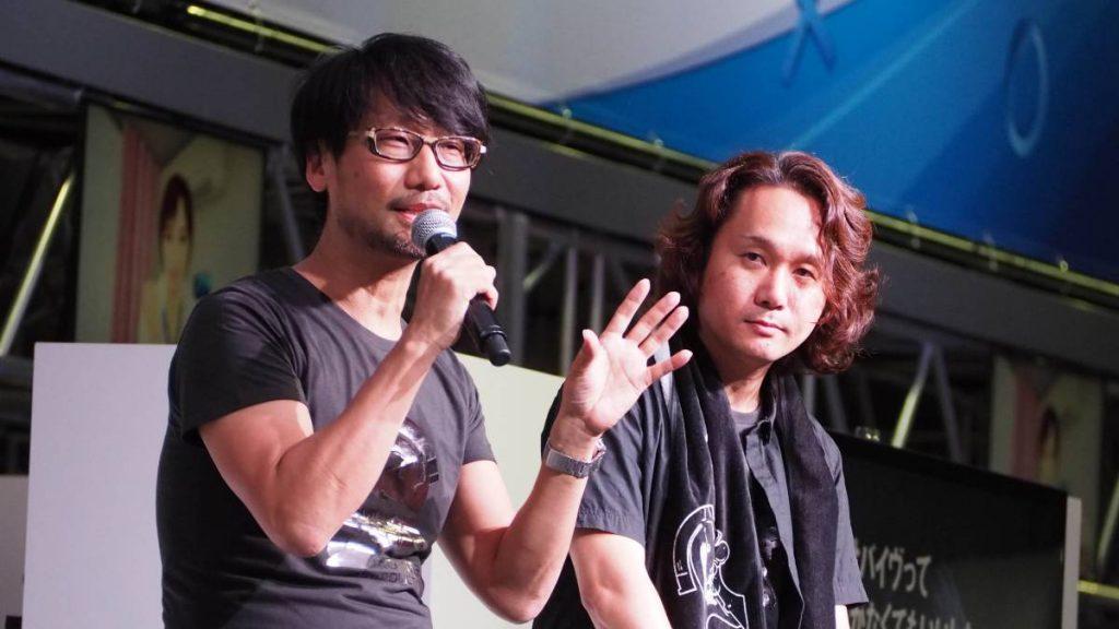 Hideo Kojima y Yoji Shinkawa