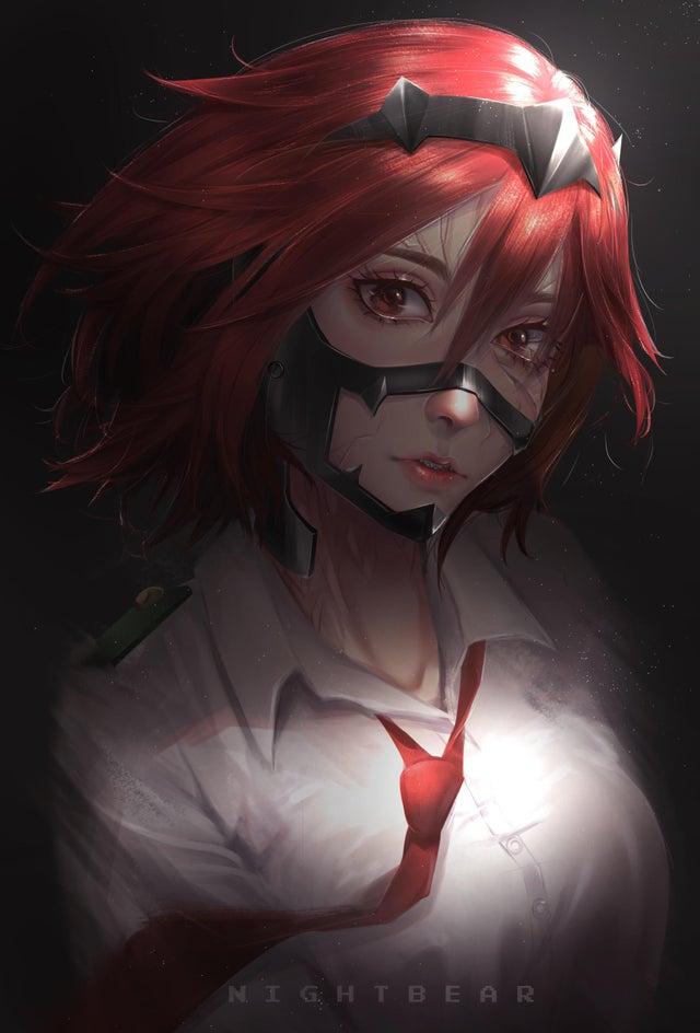 Red Riot De My Hero Academia Sigue Brillando Como Mujer En