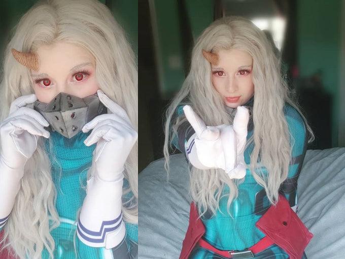 Eri sigue los pasos de Deku en este cosplay de My Hero Academia